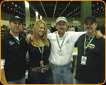 "Steve, Kayla Borosky , ""The Egyptian"" Don Boeke, and Casey Kennell"