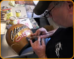 photo of Custom Pinstriping by artist Casey Kennell