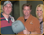 Steve Borosky, Chip Foose, Casey's Daughter Kayla