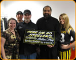 Franco Harris with the 