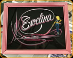 Custom Professional Hand Lettering and pinstriping by Casey Kennell