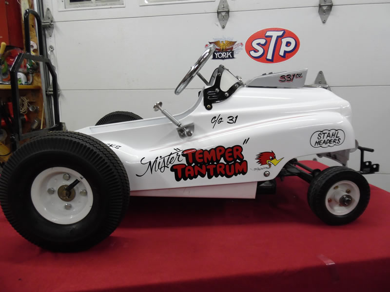 The Paint Chop Custom Lettered And Pinstriped Gasser