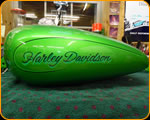 Harley Davidson Tank - Custom Professional Hand Lettering by Casey Kennell