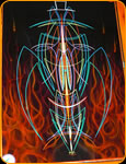 World Class Pinstriping by Casey Kennell - Culture Series No. 3