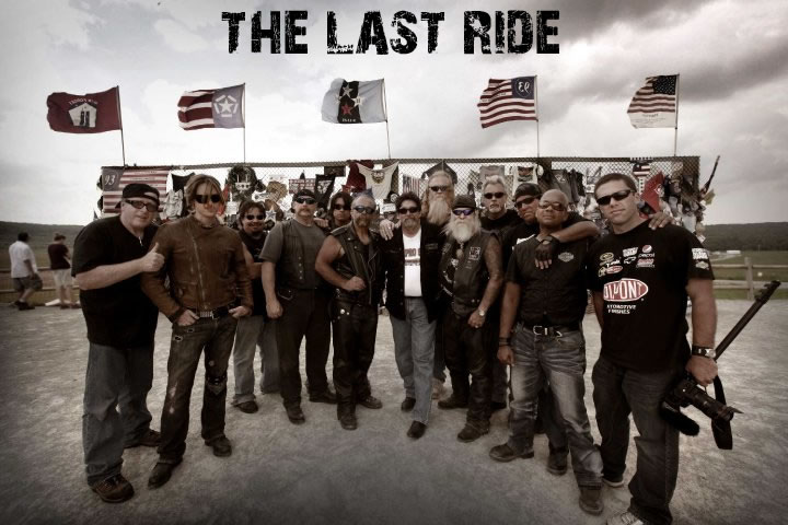 Cast and crew of the last ride (l to r): kevin evans, aaron hendra