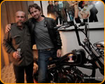 Sam Childers with Gerard Butler