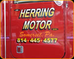 HERRING MOTORS Marmon Tow Truck Somerset, PA Pinstriping by Casey Kennell