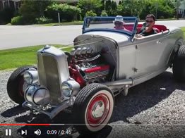 Take a Cruise in The Paint Chop's Rat Rod!